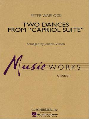 Peter Warlock: Two Dances from Capriol Suite