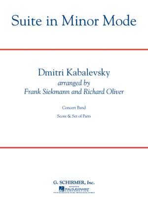Dmitri Kabalevsky: Suite in Minor Mode