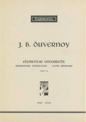 Jean-Baptiste Duvernoy: Elementarunterricht Op.176