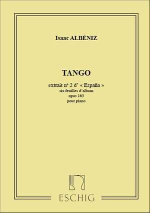 Isaac Albéniz: Tango