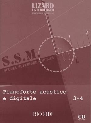 M. Catarsi: Pianoforte Acustico E Digitale - Vol. 3-4