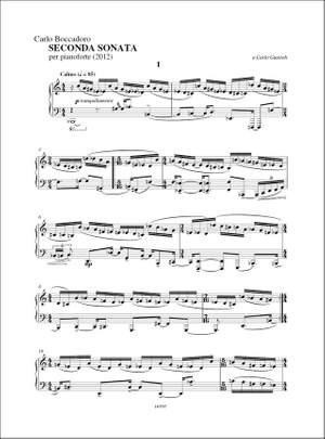 Carlo Boccadoro: Seconda Sonata