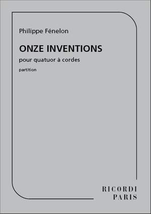 Philippe Fenelon: Onze Inventions (1998 - Rev. 2009)