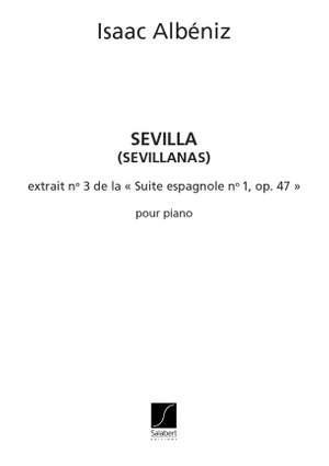 Isaac Albéniz: Sevilla Suite Espagnole N 3
