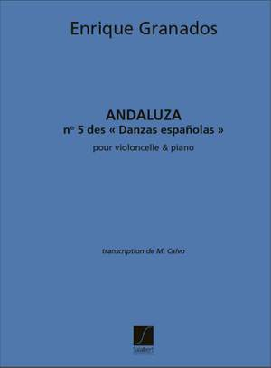 Enrique Granados: Andaluzavlc-Piano Danse Espagnole N 5 (Calvo