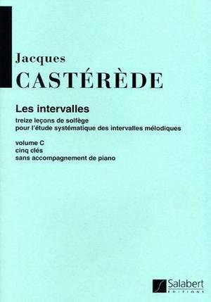 Jacques Castérède: Intervalles 5 Cles Vol.3 Sans Piano Education