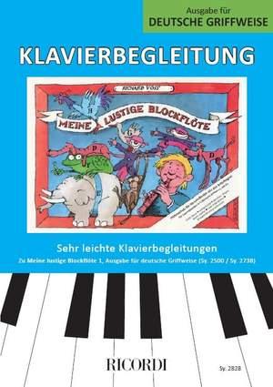 Richard Voss: Meine lustige Blockflöte Band 1 (deutsche Griffw.) Product Image