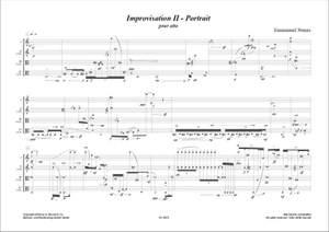 Emmanuel Nunes: Improvisation II