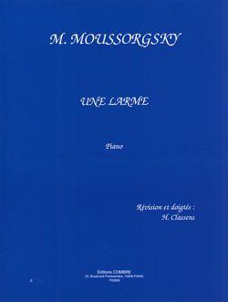 Modest Mussorgsky: Une larme