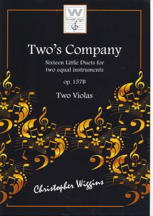 Christopher Wiggins: Two's Company (Two Violas) Product Image