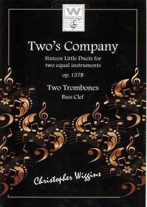 Christopher Wiggins: Two's Company (Two Trombones)
