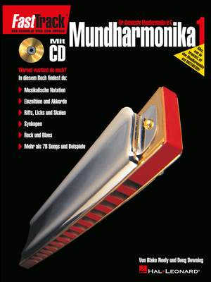 FastTrack - Mundharmonika 1 (D)
