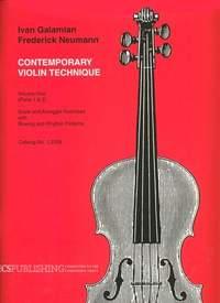 Ivan Galamian: The Galamian Contemporary Violin Technique, Vol. 1