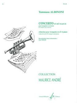 Tomaso Albinoni: Concerto En Re Majeur