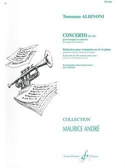 Tomaso Albinoni: Concerto En Sib