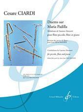 Cesare Ciardi: Duetto Sur Maria Padilla