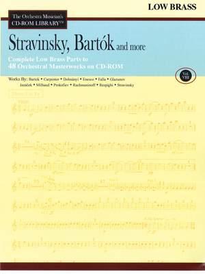 Béla Bartók_Igor Stravinsky: Stravinsky, Bartok and More - Volume 8