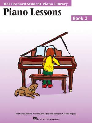 Barbara Kreader_Fred Kern_Mona Rejino_Phillip Keveren: Piano Lessons Book 2