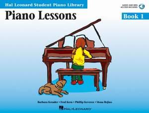 Barbara Kreader_Fred Kern_Mona Rejino_Phillip Keveren: Piano Lessons Book 1
