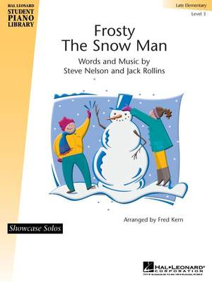 Jack Rollins_Steve Nelson: Frosty the Snowman Product Image