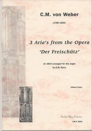 Andrew Lloyd Webber: 3 Arias From Der Freischutz Product Image