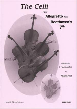 Celli Play Allegretto From Beethoven Product Image