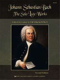 Koonce, Frank: Bach Solo Lute Works (guitar)