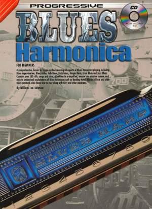 William Lee Johnson: Progressive Blues Harmonica Product Image