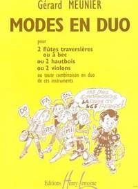 Gérard Meunier: Modes en duo