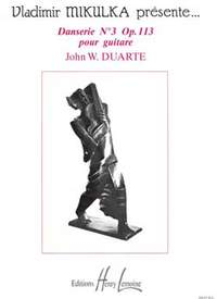 John William Duarte: Danserie n°3 Op.113
