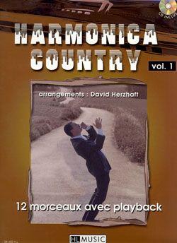 David Herzhaft: Harmonica Country Vol.1