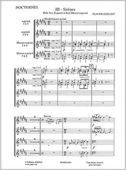 Claude Debussy: Nocturnes (3)