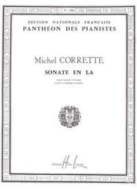 Michel Corrette: Sonate en la maj.