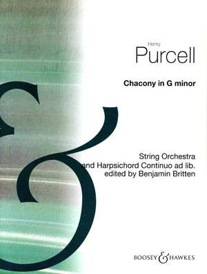 Henry Purcell: Chaconne in G Minor