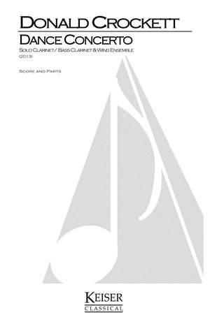 Donald Crockett: Dance Concerto for [Bass]-Clarinet & Wind Ensemble