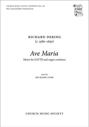 Dering, Richard: Ave Maria