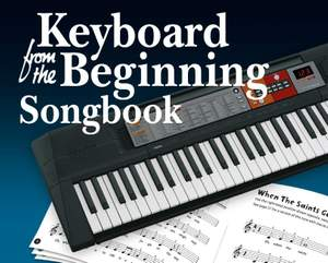 Keyboard From The Beginning: Songbook Product Image