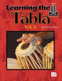 David Courtney: Learning The Tabla, Vol. 2 Book With Online Audio