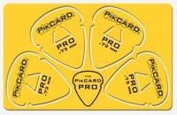 PikCard: .73mm Yellow Delrin (4 Guitar Picks)