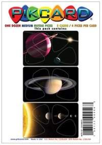 PikCard 3-Pack: Cosmos (12 Guitar Picks)