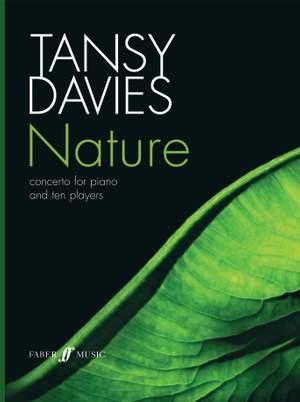 Davies, Tansy: Nature (score)