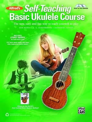 Alfred's Self-Teaching Basic Ukulele Course Product Image