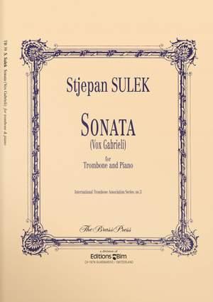 Stjepan Sulek: Sonata ( Vox Gabrieli )