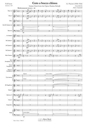 Giacomo Puccini: Coro a bocca chiusa