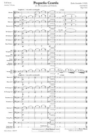 saxophone and piano LEMOINE HX26054 ; Iturralde Suite Hellenique Pedro
