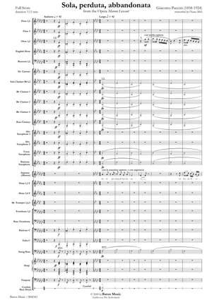 Giacomo Puccini: Sola, perduta, abbandonata