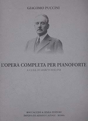 Giacomo Puccini: Opera Per Pianoforte