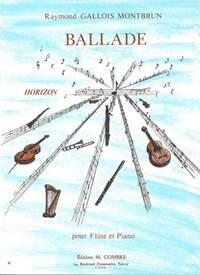 Raymond Gallois Montbrun: Ballade