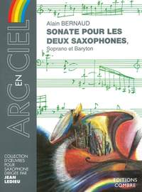 Alain Bernaud: Sonate pour les 2 saxophones