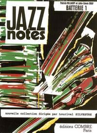 Patrick Billaudy_John-Edwin Graf: Jazz Notes Batterie 1